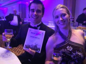 Adam & Vanessa Castledine win customer satisfaction dealer of the year award