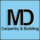 MD Carpentry logo